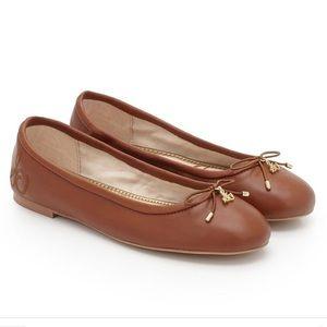 Sam Edelman Felicia flats saddle brown 8.5